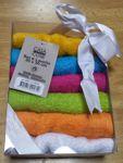 Confezione lavette cotone 6 asciugamani colori assortiti - Guarnizione finestra condizionatore ...