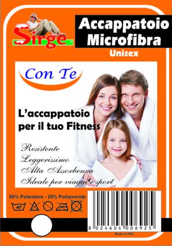 Accappatoio Microfibra
