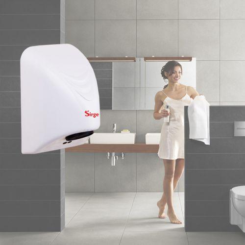 Asciugamani automatico elettrico da parete a muro per hotel ad aria calda