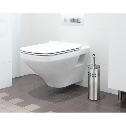 Scopino Bagno e Portascopino WC Scopino per WC in Acciaio Inossidabile e Resistente alla Ruggine