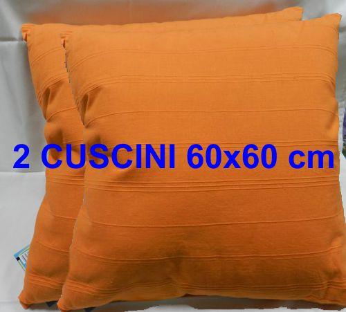 Cuscini Arredo 60x60.Sirge 2 Cuscini 60 X 60 Cm Coppia Cuscini Arredo Cotone Sf