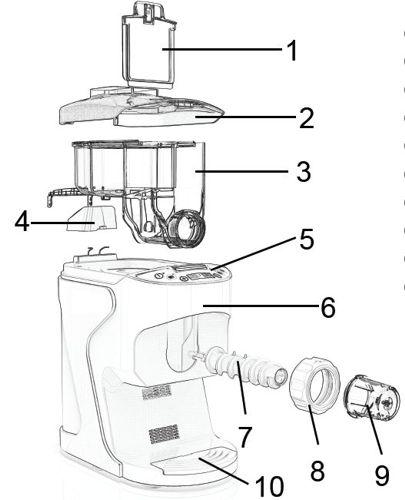 Macchina per pasta fresca semiautomatica impasta e crea la pasta PASTALELLA SIRGE