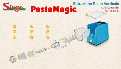 Macchina per pasta fresca Automatica impasta e crea PASTAMAGIC