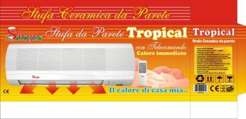 Sirge elettrodomestici tropical - Stufe a parete elettriche ...