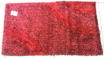 Tappeto Shaggy Rosso 60 x 105 cm