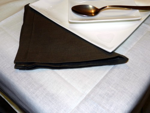 Tovaglia Cotone avorio Tinta Unita