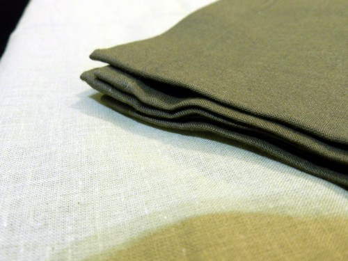 Tovaglia Cotone beige Tinta Unita