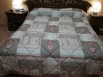 TRAPUNTA INVERNALE MATRIMONIALE DOUBLE FACE 250X260 CM PIUMONE 2 PIAZZE Anallergico MADE IN ITALY ZAM-CAM04D