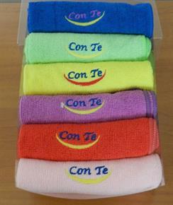 Confezione 12 Lavette Asciugamano Microfibra colori assortiti 30 x 30 cm - Alta Assorbenza, leggero, asciugatura rapida, poco ingombrante, la nuova frontiera delle spugne