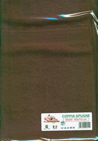 Asciugamani Coppia Spugne 40x60cm e 60x110cm 450gr/mq SPUGNE06