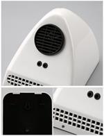 Asciugamani Automatico Elettrico ad aria calda FOTOCELLULA PARETE MURO 800W
