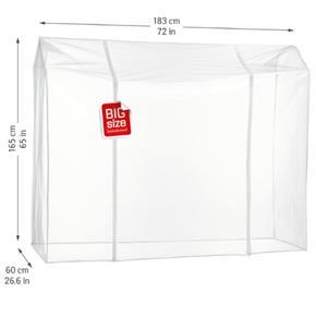 Copertura Protettiva Antipolvere per Stand Appendiabiti Trasparente 183x60x165H cm