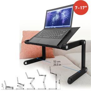 Leggero Nero, Ideale per Laptop da 7 a 17 pollici