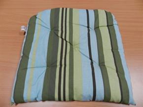 Cuscino coprisedia con velcro coordinato 40 x 40 cm 05