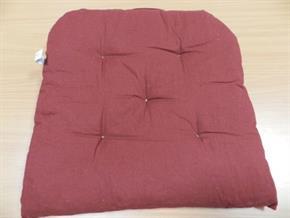 4 Cuscini coprisedia con velcro coordinato 40 x 40 cm 10