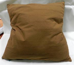 Cuscino Arredo 100% Cotone 60 x 60 cm con rilievi sfoderabile