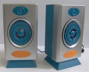 2 Coppie di Casse Piccole per PC, MP3, IPod, Smarthphone Stereo System MINI SPEAKER