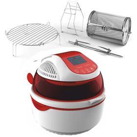Friggitrice ad Aria Digitale Automatica Turbo Forno Multifunzione Ventilato cottura senza olio e grassi Max 1400 Watt