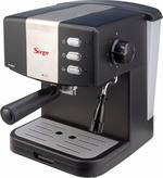 Macchina per Caffe Espresso e Cappuccino caffe in polvere Crema PIU GranBar 15bar