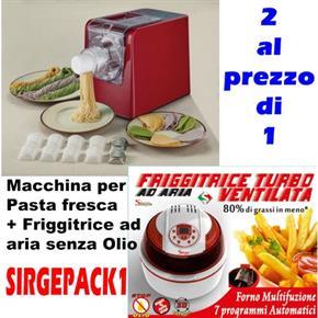 Macchina per Pasta Fresca e Friggitrice ad Aria senza olio
