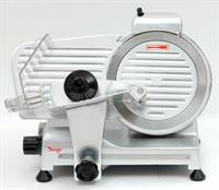 AFFETTATRICE PROFESSIONALE 280 WATT Semi-Automatica SIRGE con lama in acciaio INOX di diametro 22 cm - 3 Sistemi di SICUREZZA