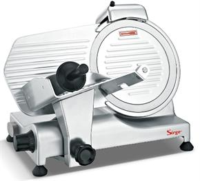 Affettatrice Professionale Semi Automatica 25 cm 320 Watt con 3 protezioni di sicurezza