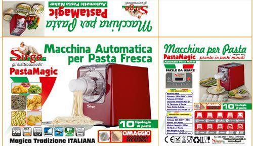 Macchina elettrica per fare la pasta fresca con 14 dischi - Pasta fatta in casa macchina ...