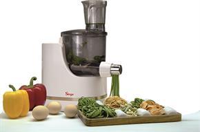 Macchina Automatica per fare la pasta fresca in casa con tutti i tipi di farina e tipi di liquidi - max 600gr di farina - 18 tipi di pasta + Bilancia