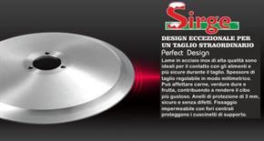 Lama disco Affettatrice Professionale Sirge 30 cm
