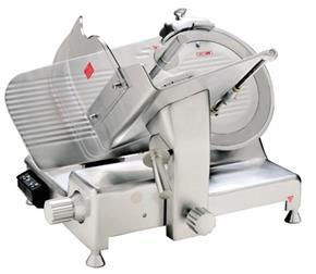 Affettatrice Professionale Semi Automatica 35 cm 400 Watt (0,5HP) Lama in Acciaio, spessore taglio fino a 30 mm