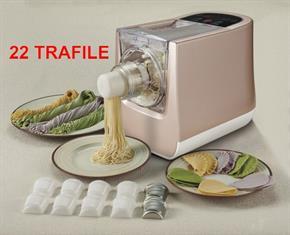 Macchina Automatica o Manuale per fare la pasta fresca in casa con tutti i tipi di farina e tipi di liquidi 300 Watt - 22 tipi di pasta + Ravioli