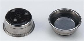 Filtro Macchina Caffe Espresso 1 tazzina o 1 CIALDA di carta da 44mm LUSSY GRANBAR