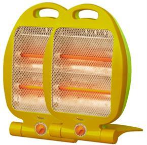 Stufa 800 Watt Compatta pieghevole  - 2 Elementi riscaldanti RADIATORE STUFETTA PER CASA UFFICIO CAMPER