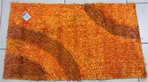 Tappeto Shaggy Arancio 60 x 105 cm
