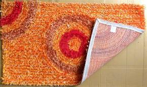 Tappeto Shaggy Arancio 2 60 x 105 cm