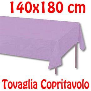 Copritavolo Cotone Tovaglia Viola Lilla Rettangolare Tinta Unita 140 x 180 cm 100% cotone