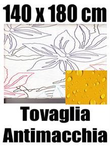 Tovaglia antimacchia 140 x 180 cm 100% cotone idrorepellente 04