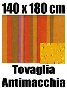 Tovaglia antimacchia 140 x 180 cm 100% cotone idrorepellente 10