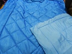 Trapunta Matrimoniale Microfibra DoubleFace Azzurro / Blu Trapuntino in 100% poliestere 240x280 cm 7243A