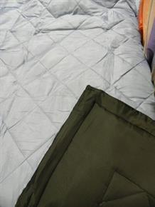 Trapunta Matrimoniale Microfibra DoubleFace Nero / Azzurro Trapuntino in 100% poliestere 240x280 cm 7243N