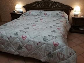 Trapunta DOUBLE FACE Matrimoniale Piumino Piumone 100% Poliestere ANALLERGICO Dim: 250x260 cm MADE IN ITALY